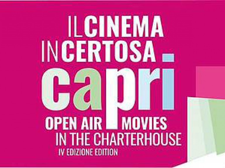 2017 | dal 2 al 9 agosto | Cinema in Certosa